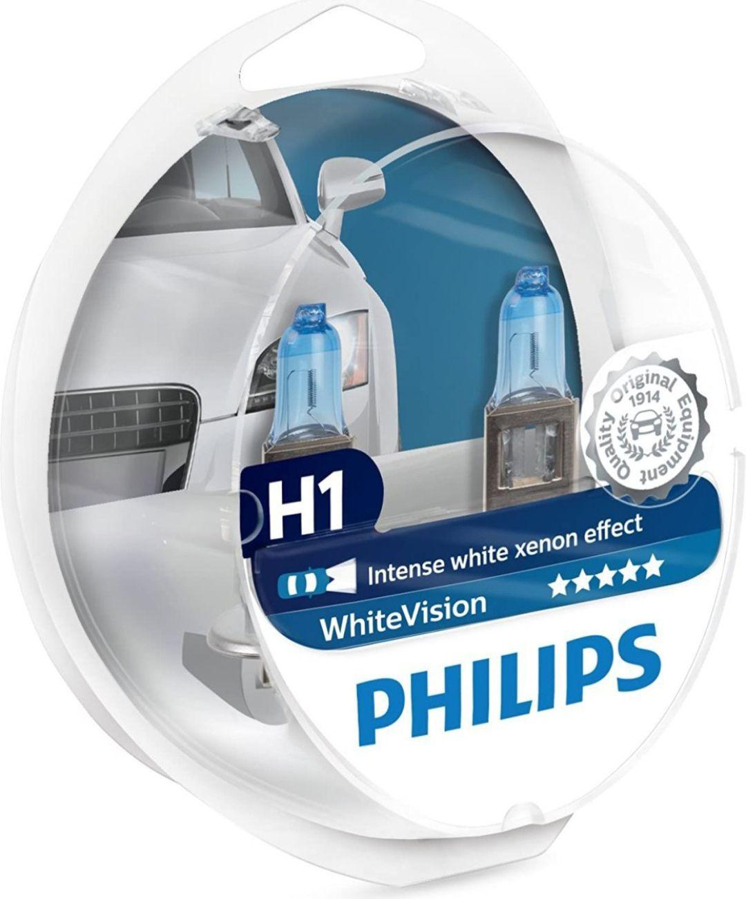 H1 Philips White vision [Reaco Como Nuevo]