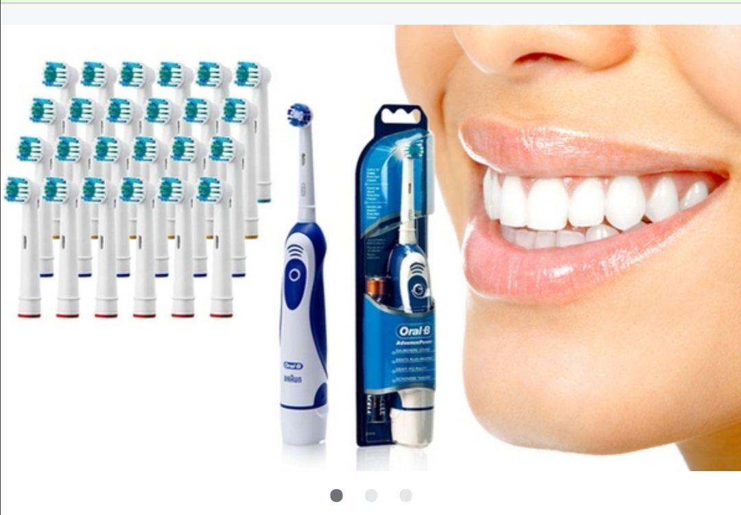 Cepillo oral-B con recambio compatible