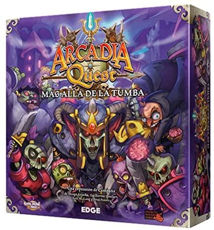 Arcadia Quest Más Allá de la Tumba - Expansión - Juegos de mesa