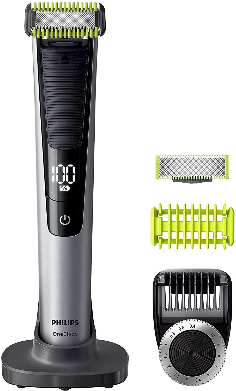 Philips QP6620/30 OneBlade Pro Cara y Cuerpo - Recortador de Barba Recargable