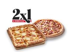 Telepizza 2x1 en Medianas y Familiares