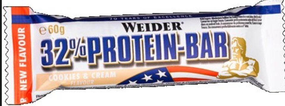 WEIDER 32% PROTEIN BAR 60 GR.