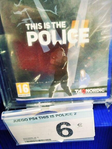 This is the police 2 PS4 (6€) y Nintendo Switch (9€) en Carrefour de Huelva