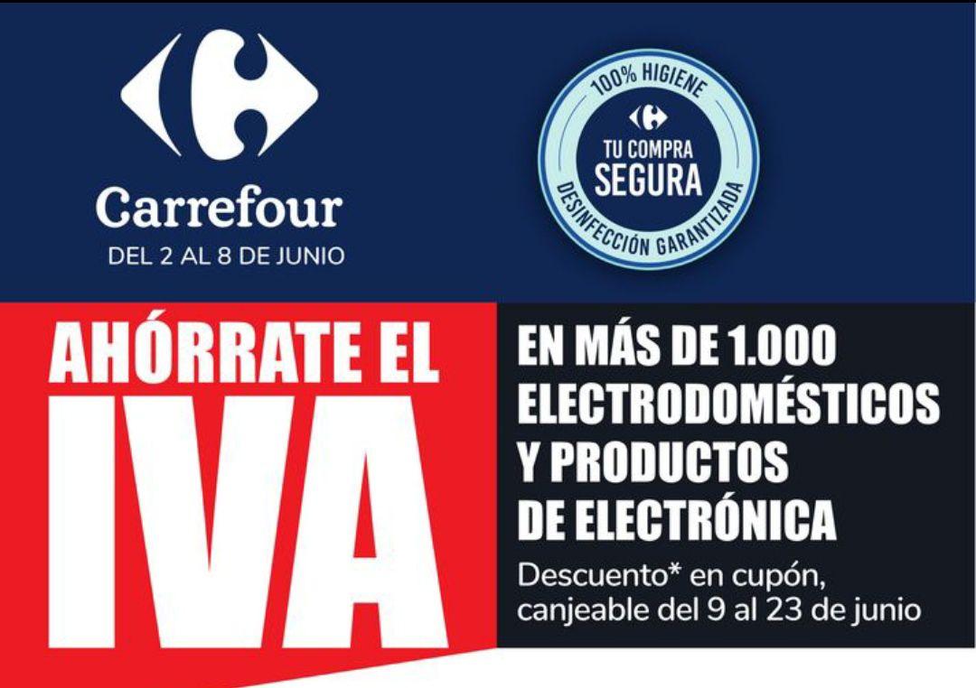 Descuento del 21% del Iva en más de 1000 productos electrónicos