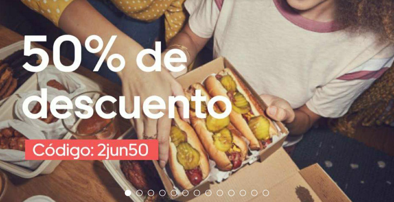 50% de descuento en Uber Eats Valencia