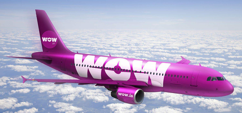 20% de descuento en Wow Air. ¡118€ a Islandia ida y vuelta!