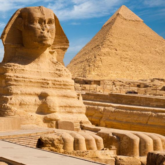 Viaje de 8 dias a Egipto: Cairo y crucero por el Nilo con 10 visita guiadas