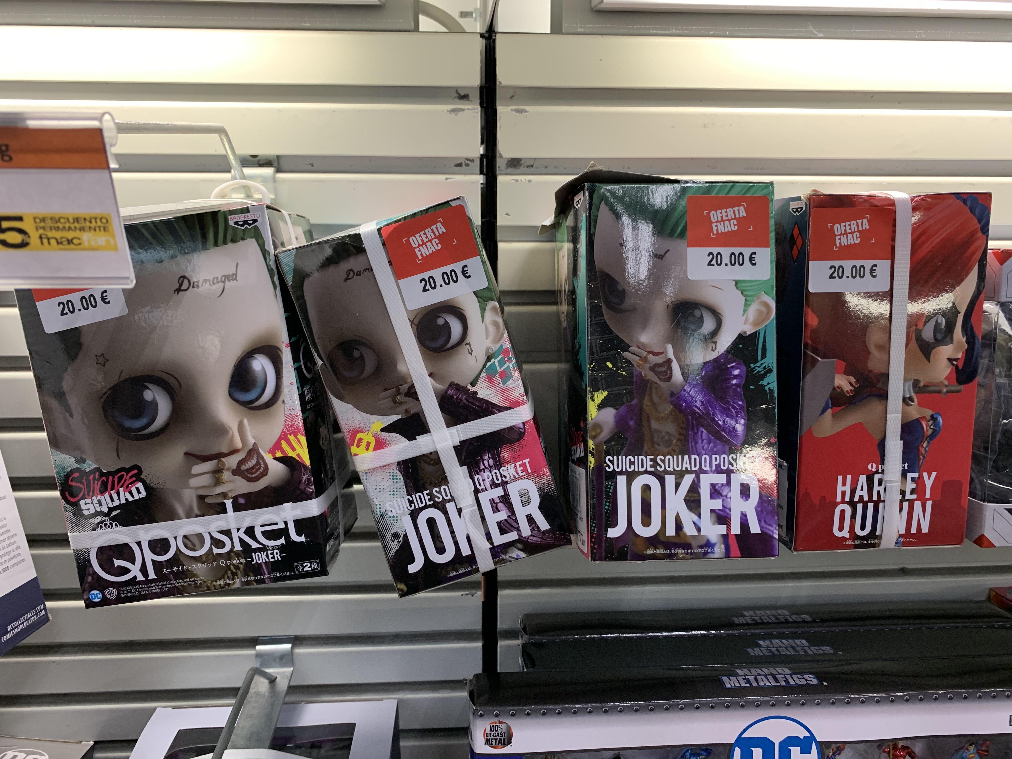 Qposket Joker o Harley Quinn (Fnac Murcia)