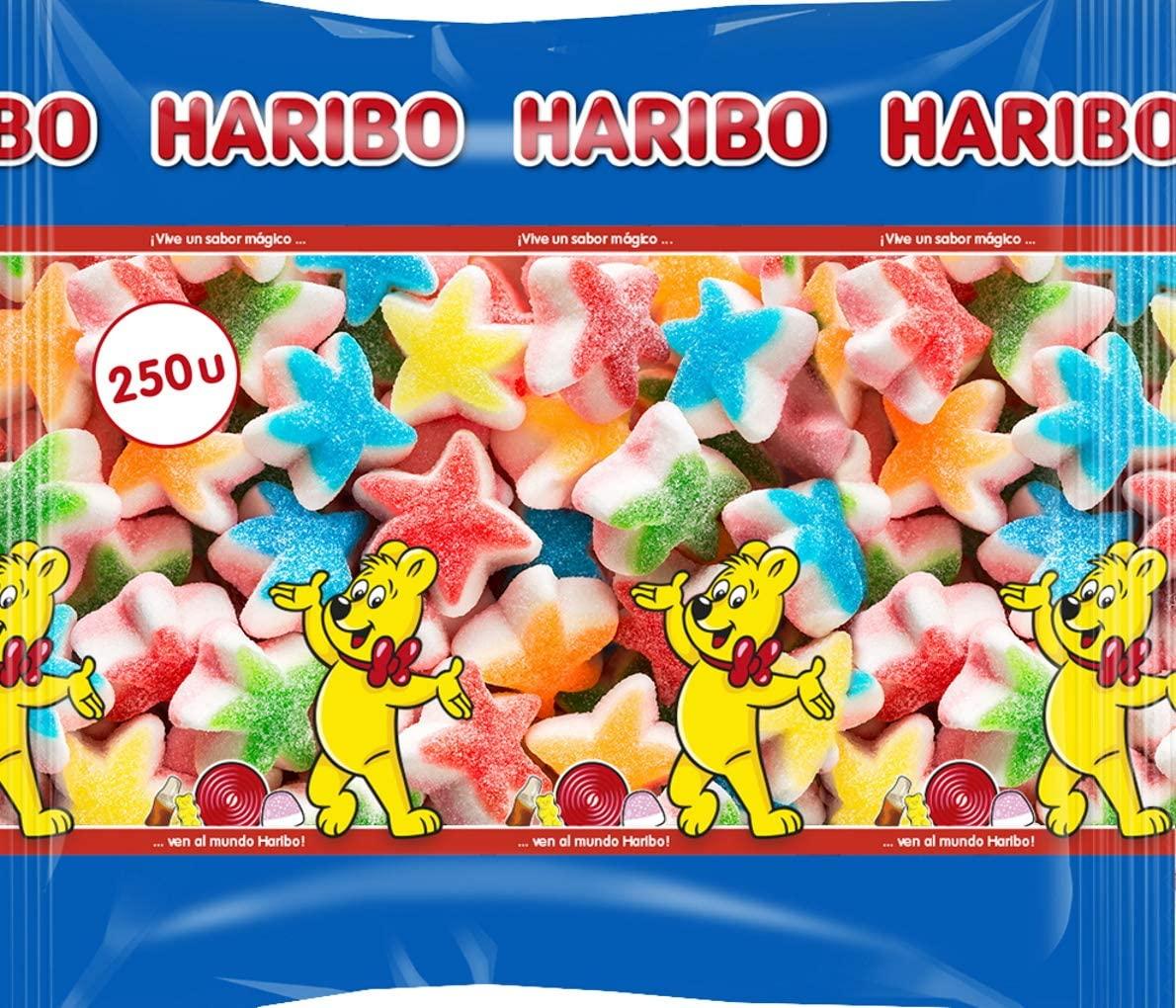 Bolsa de 1,875 kilos de Haribo Estrellas Tricapa