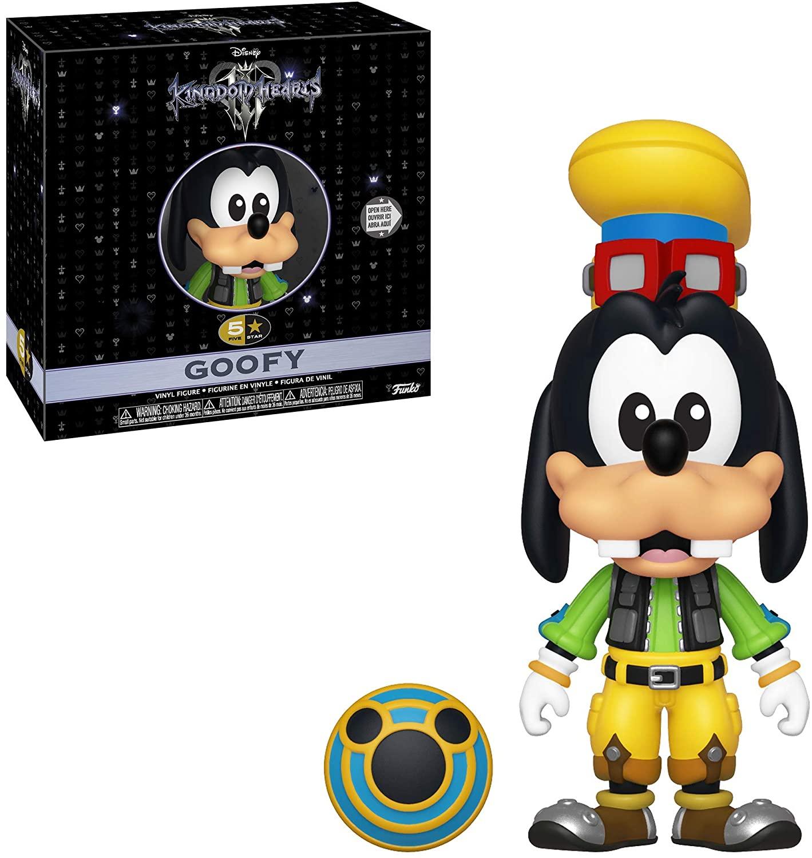 Funko- 5 Star: Kingdom Hearts 3: Goofy 5 Estrellas