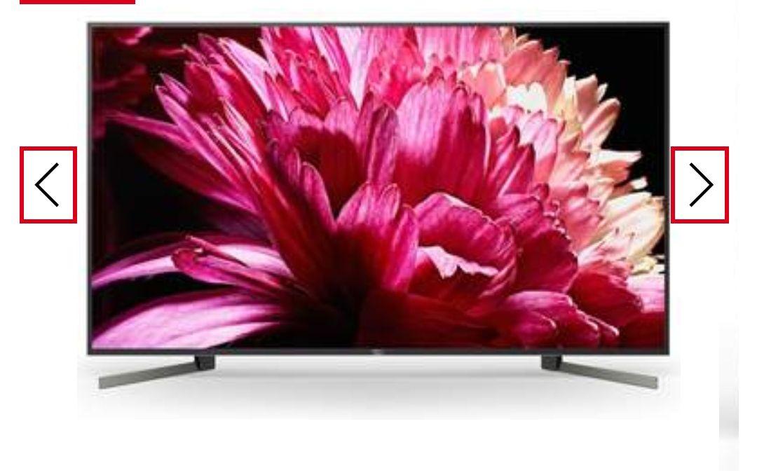 "TV Sony 49"" KD49XG9005 - 4K X-Reality PRO, Android TV,X1Processor Extreme, Dolby Vision, FullArray *Mínimo histórico*"