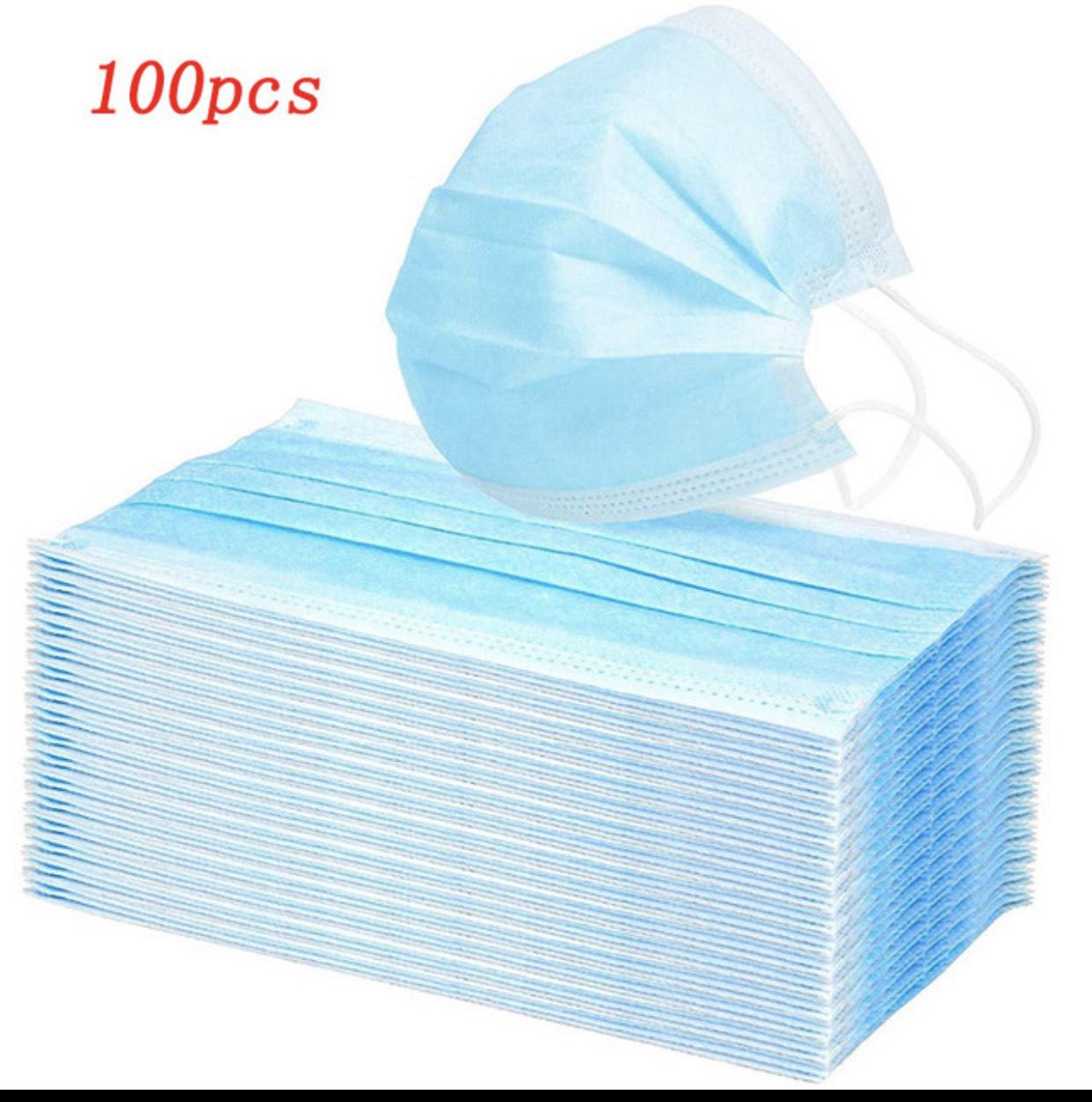 Mascarillas pack 100 unidades
