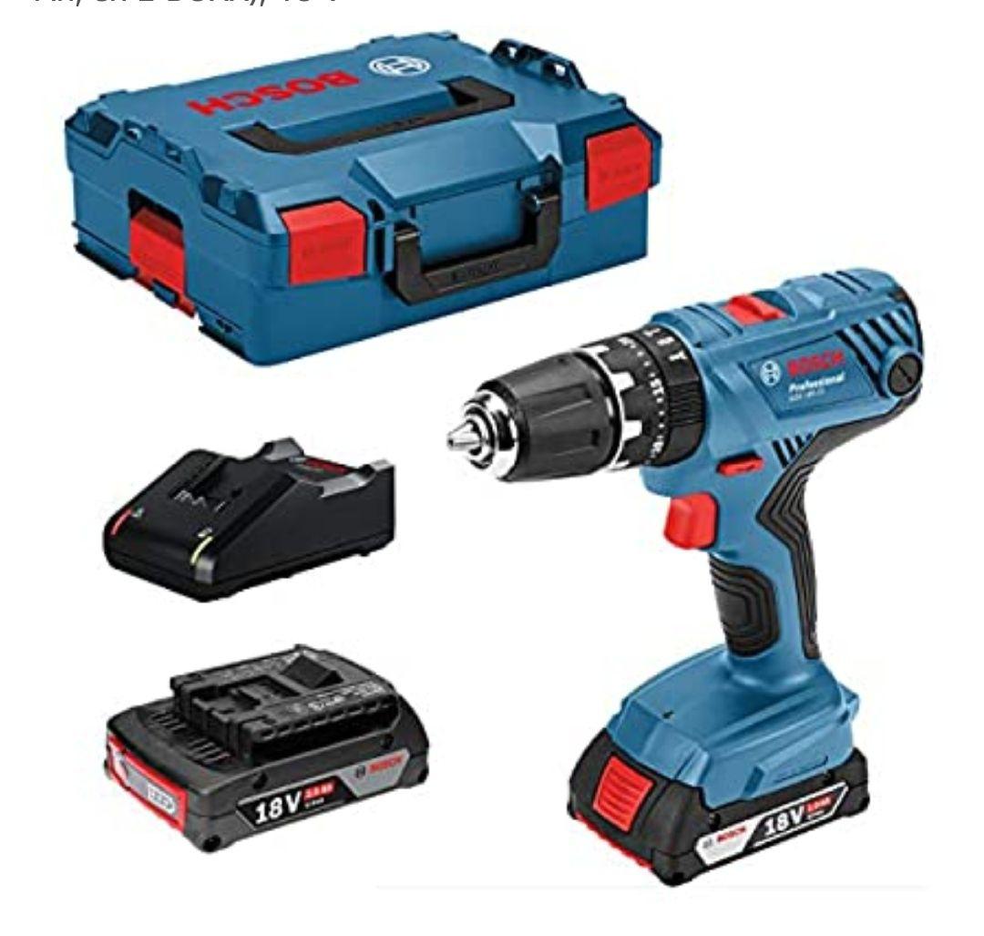 Bosch Professional 18V Atornillador +2 baterías +Maletín