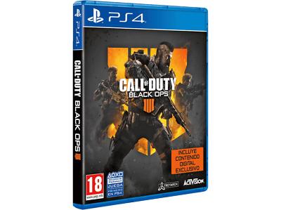 PS4 Call of Duty: Black Ops 4 + Contenido Digital Exclusivo