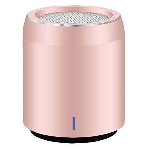 Altavoz Bluetooth Usmain Tamaño de Huevo Reproductor en Rstéreo Mp3, Caja Subwoofer Portátil con Micrófono, Inalámbrico, para Casa y Exterior incluye Salida Auxiliar para Introducir un Cable