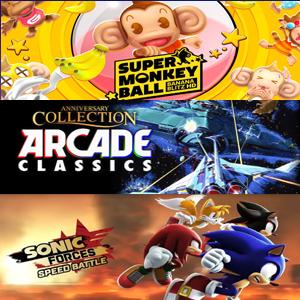 XBOX :: Juega Gratis Super Monkey Ball, Sonic Forces y Arcade Classics Anniversary Collection