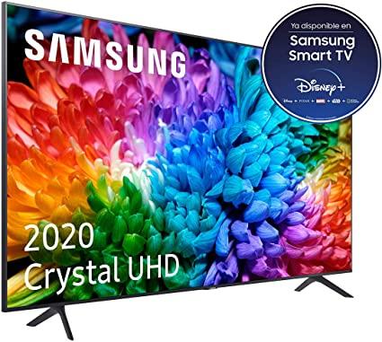 "Smart TV 65"" Samsung Crystal UHD 2020 65TU7105 4K, HDR 10"