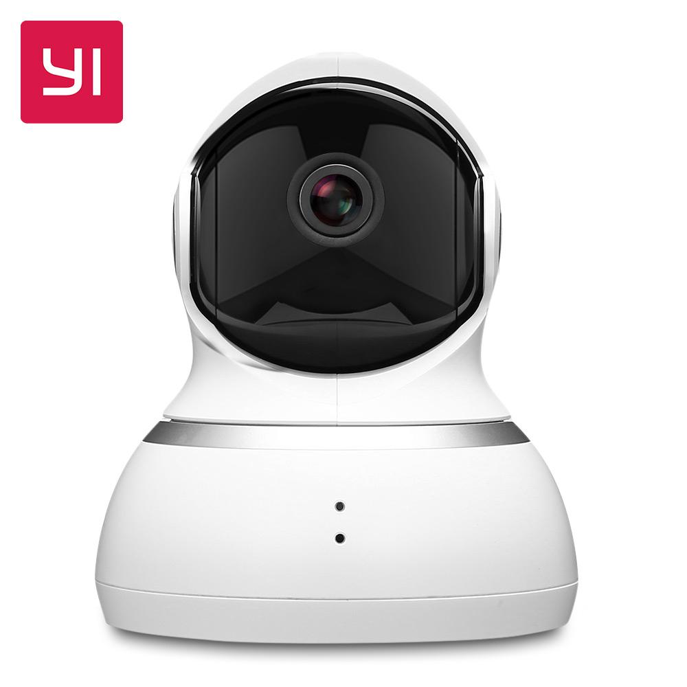 YI Camara Vigilancia 1080p IP Wifi Interior 360° Compatible con Alexa