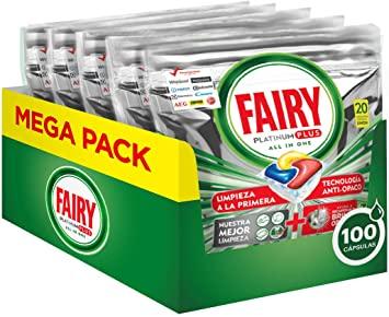 100 Capsulas Fairy Platinum Plus