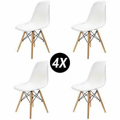 Pack 4 sillas de comedor Solo 53€