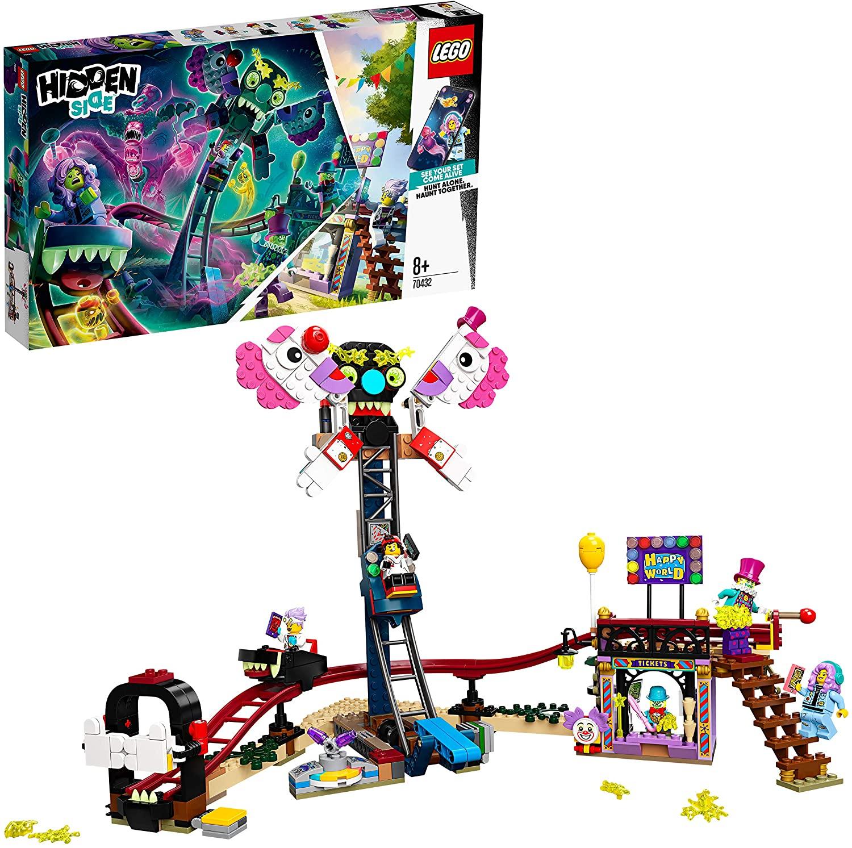 LEGO Hidden Side - Feria Encantada, Set de Construcción con Atracciones