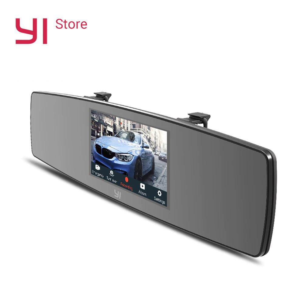 Espejo retrovisor con doble cámara YI Mirror Dash - Envio desde España