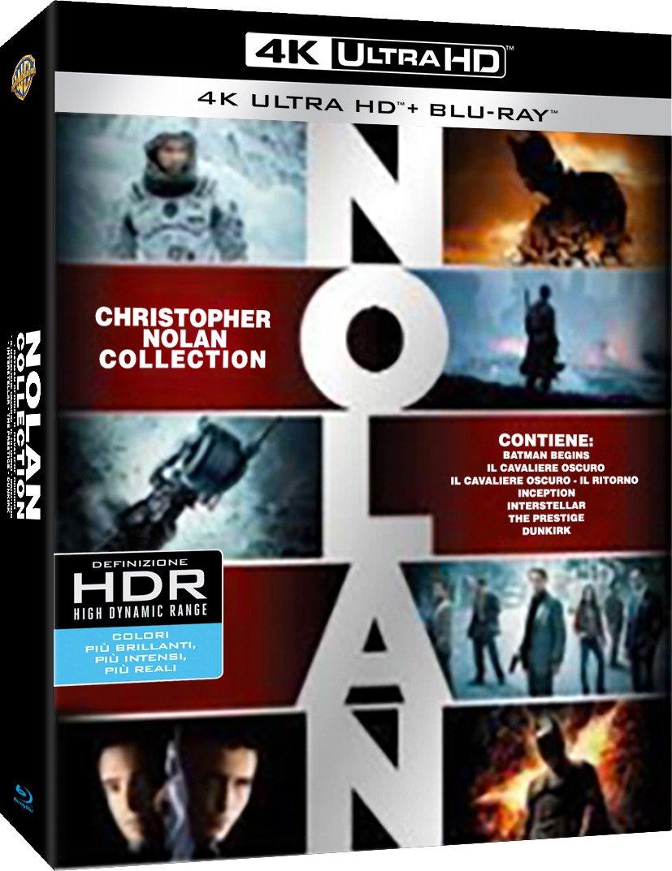 Colección definitiva del Universo de Christopher Nolan (19 discos)