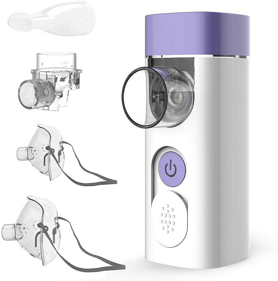 Nebulizador inhalador portátil Hylogy + accesorios