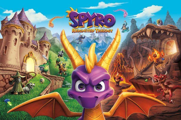 Spyro Trilogy Switch Sudáfrica (Digital)