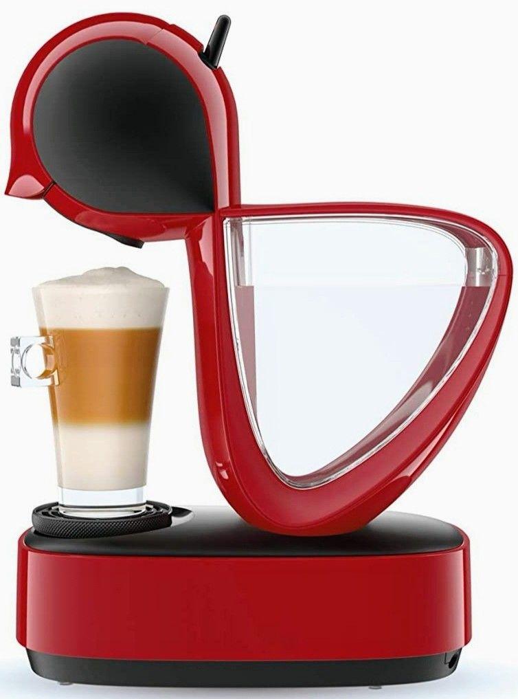 Cafetera de cápsulas DOLCE GUSTO Infinissima Krups, color rojo o negro (recogida tienda gratis)