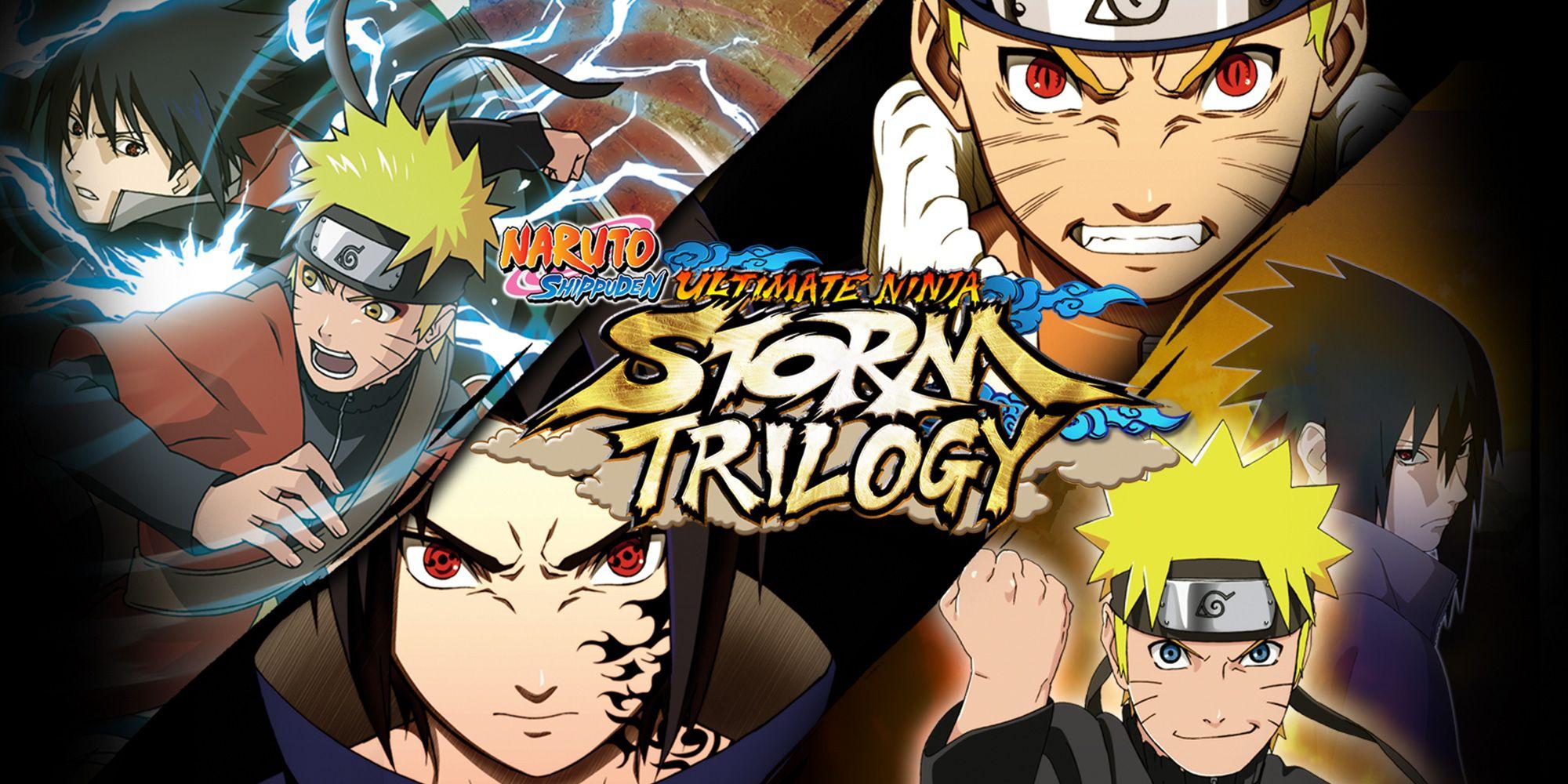 Naruto Shippuden: Ultimate Ninja Storm Trilogy (eshop)