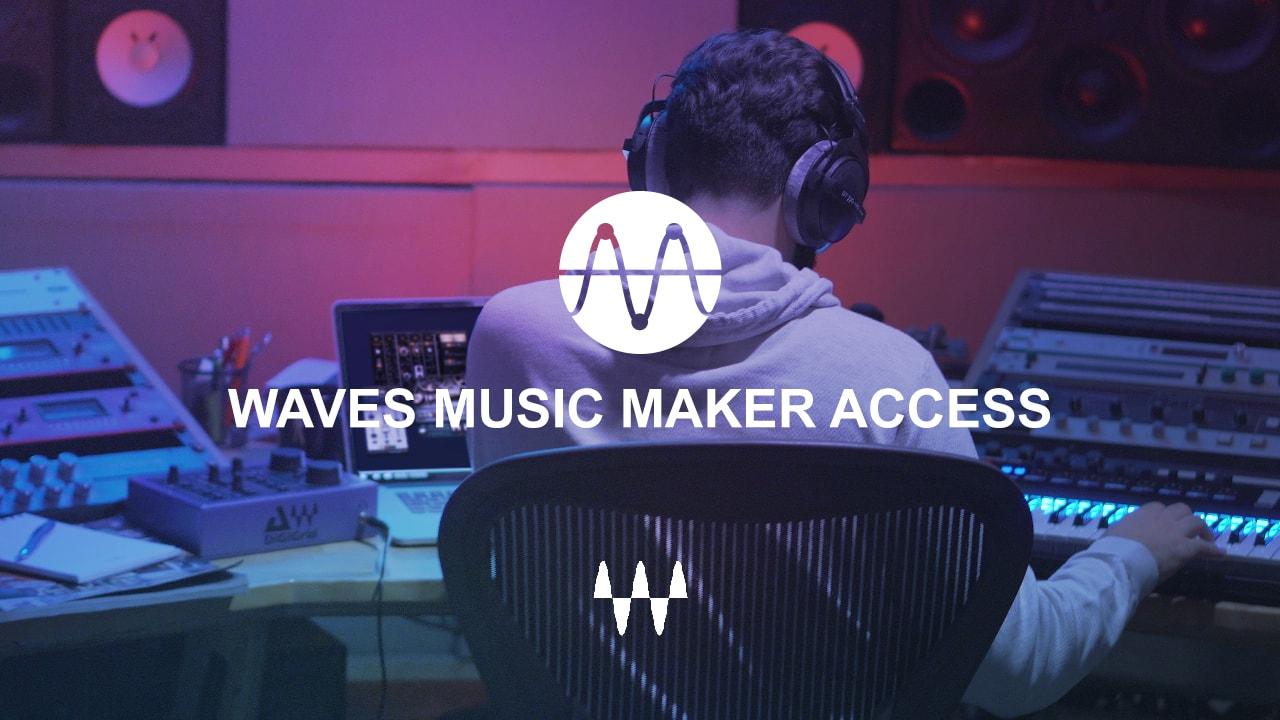 1 mes gratis de Waves Music Maker Access - Platinum (57 plugins de audio)