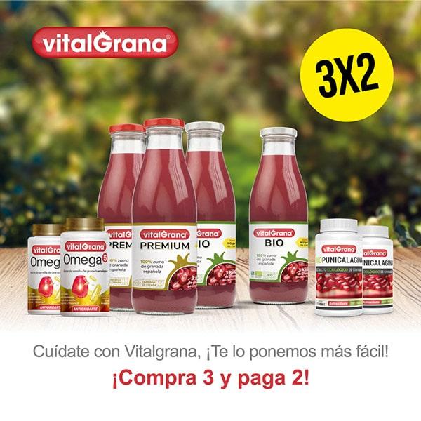 3x2 en zumos de granada