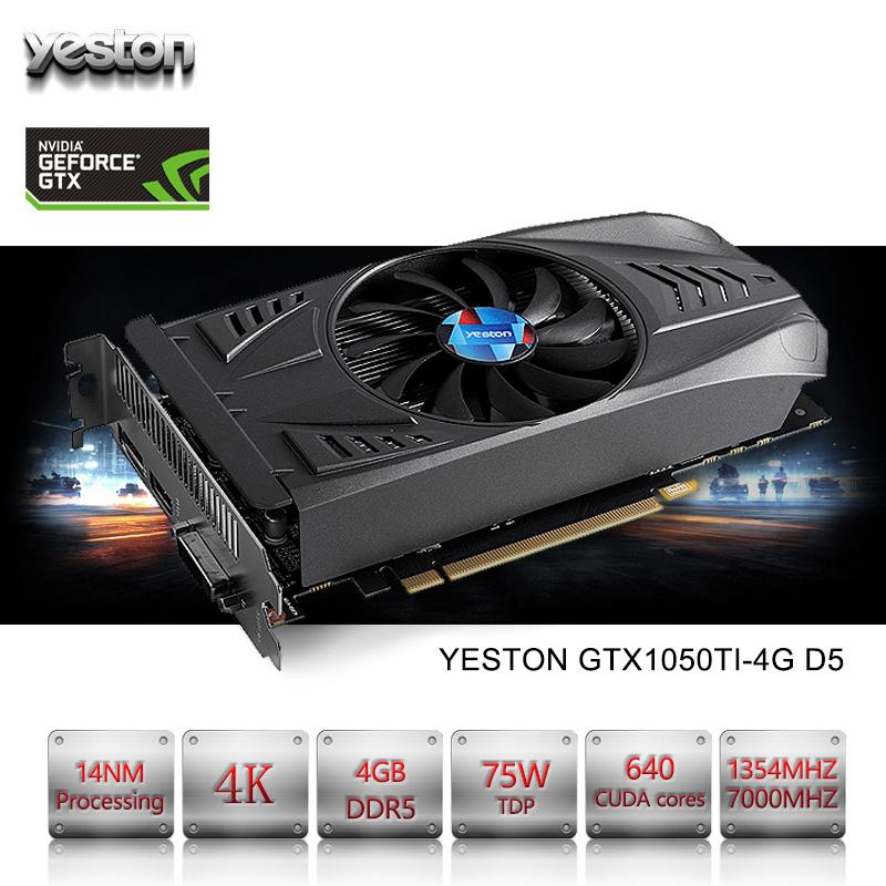 Yeston NVIDIA GeForce GTX 1050Ti 4GD5