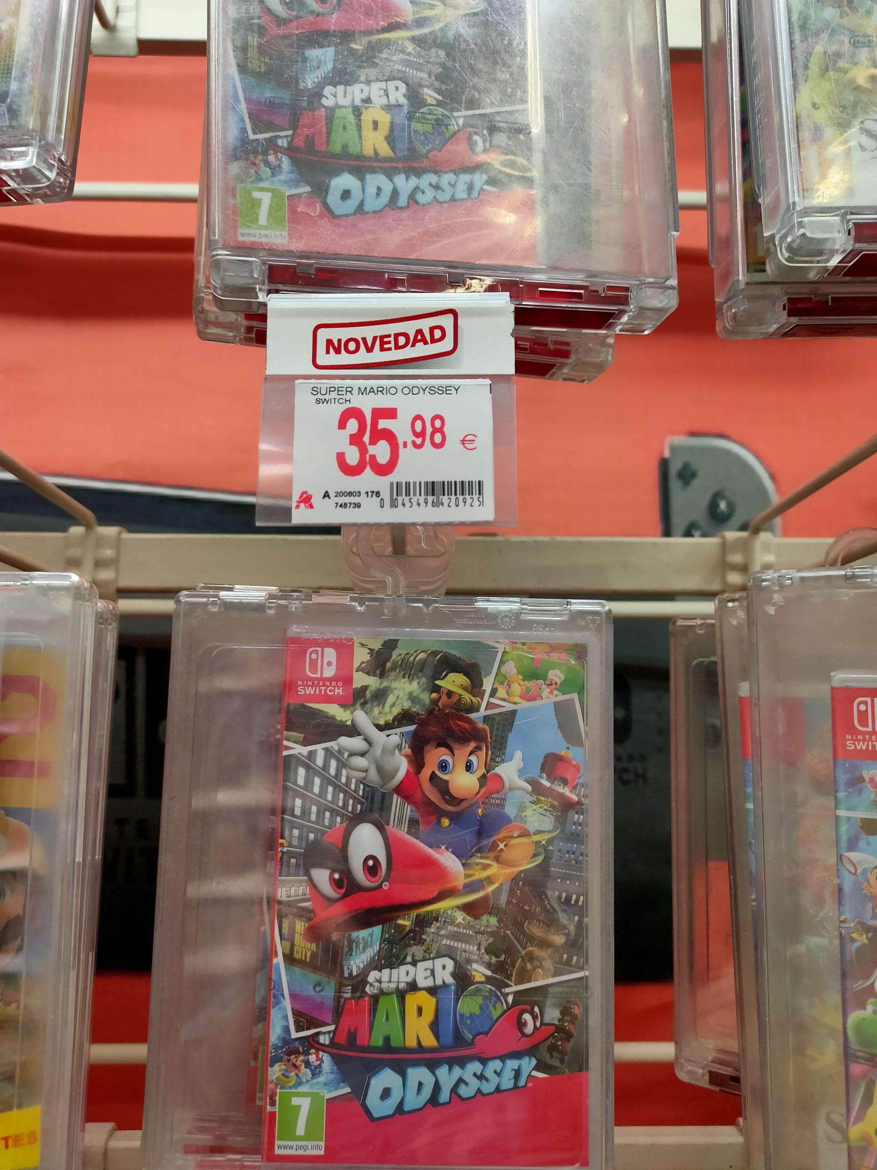 Super Mario Odyssey Switch (Alcampo Utebo)