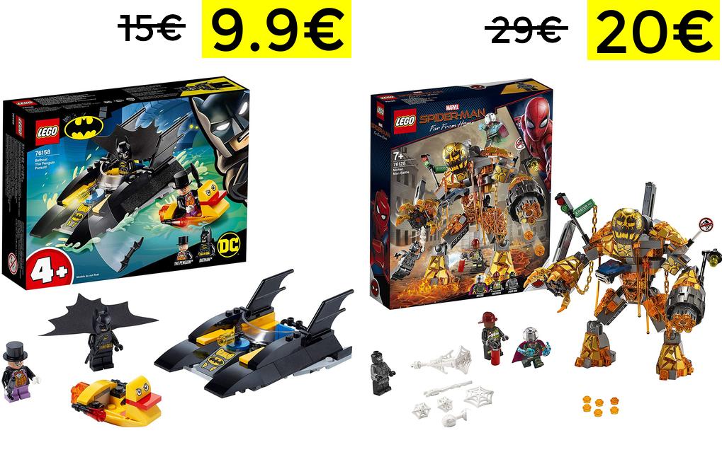 Lego Superheroes: Caza del Pingüino solo 9.9€