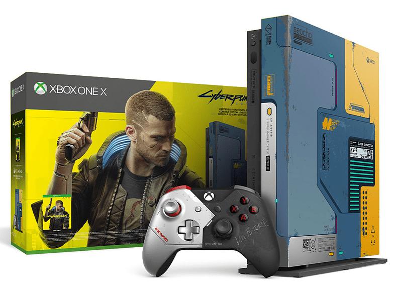 Xbox One X Cyberpunk 2077 (Edición Limitada)