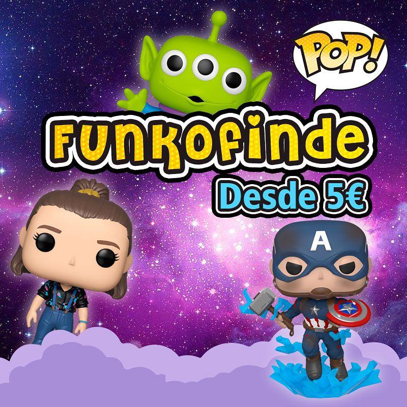 Funko Finde, figuras POP desde 5€