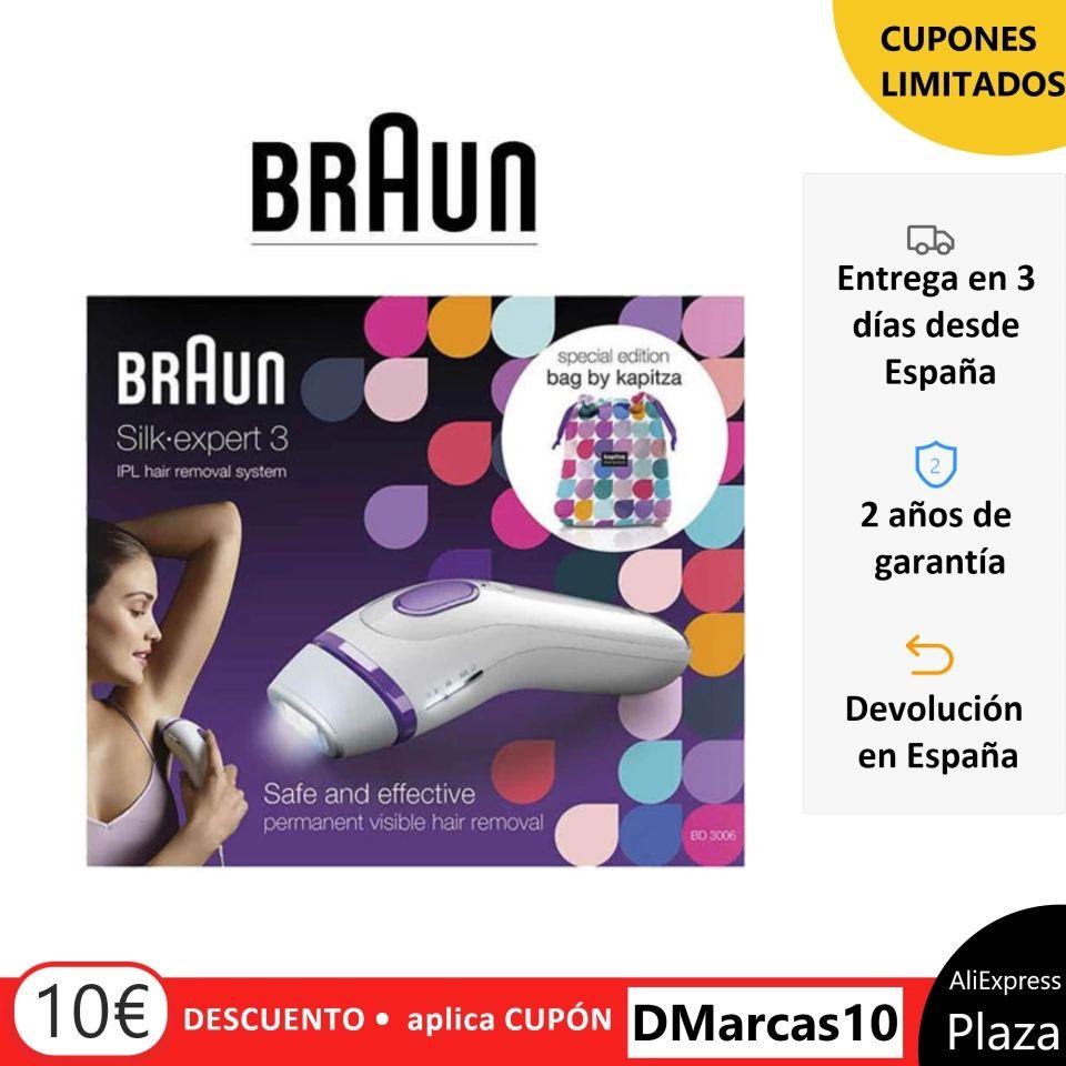 Braun Silk-expert 3 IPL BD 3006 Depiladora Laser