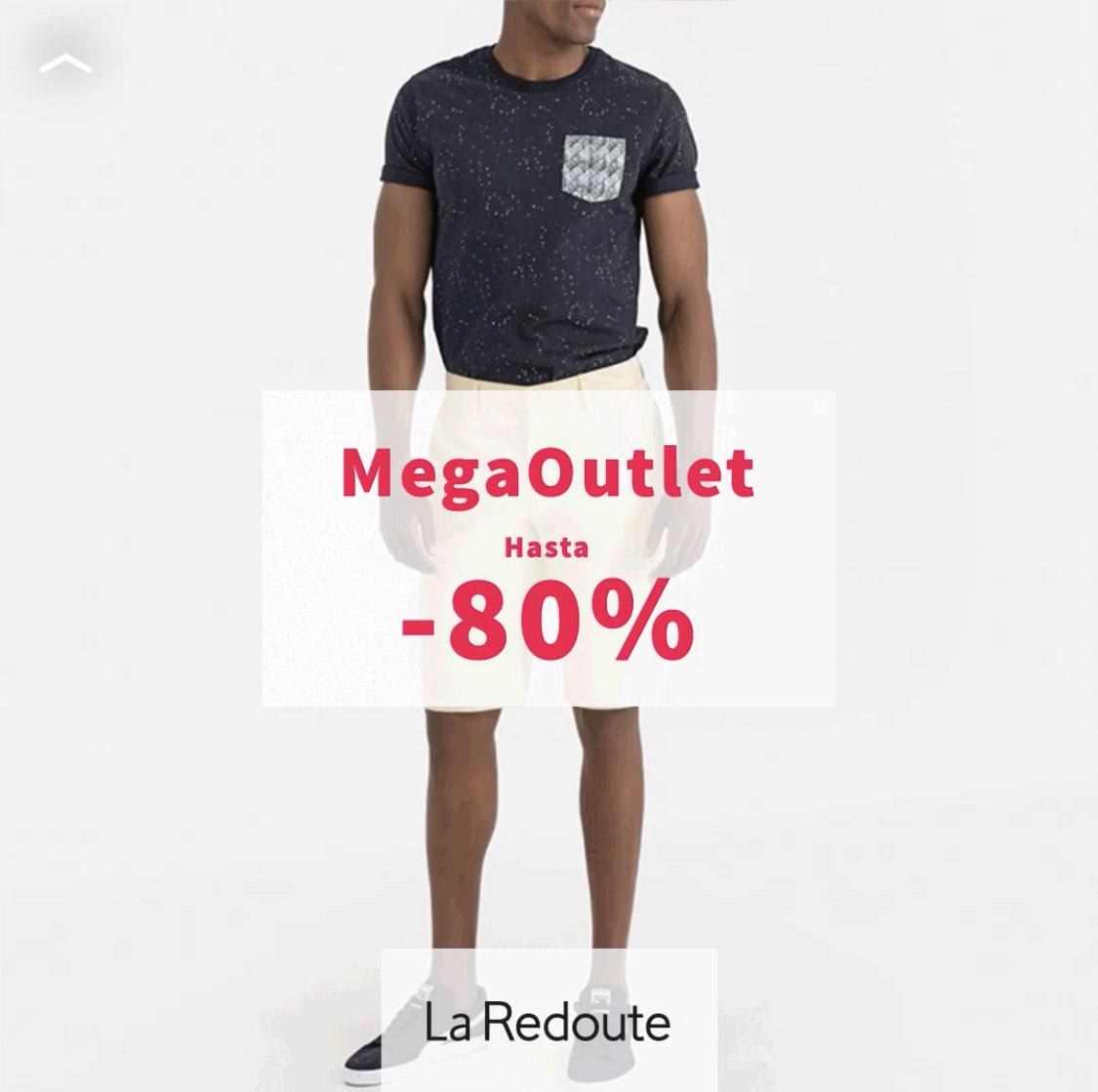 MegaOutlet - La Redoute -- Hasta el 80% de dto
