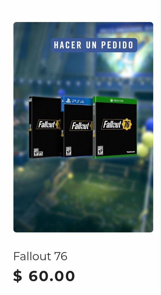 Reserva previa Fallout 76 con Acceso a Beta y Regalo Xbox PS4 PC