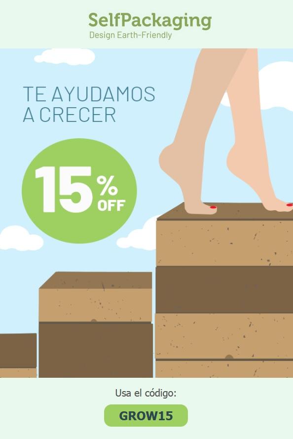 15% de descuento en compras superiores a 300€