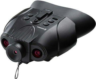Bresser Binocular de vision nocturna digital 3x con funcion de grabacion Bresser