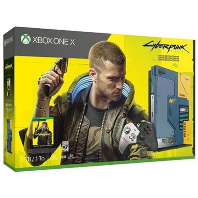 Xbox One X edición Cyberpunk 2077