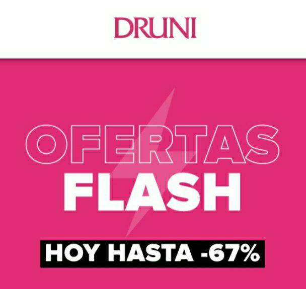 DRUNI | Hasta -67% Ofertas flash | Sólo HOY