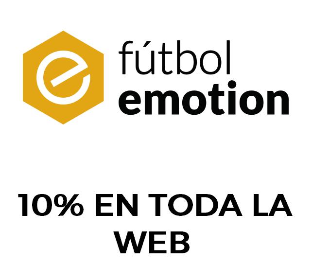 10% de descuento en toda la web de Futbolemotion