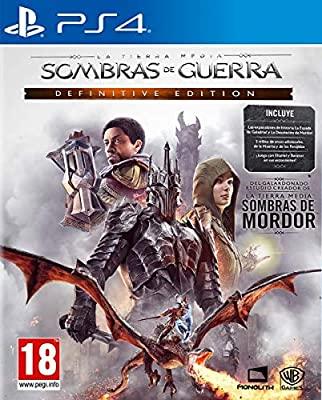 Sombras de Guerra Definitive Edition(PlayStation 4)