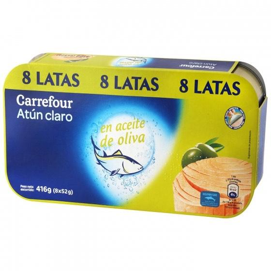 3x2 En Atún claro en aceite de oliva en Carrefour