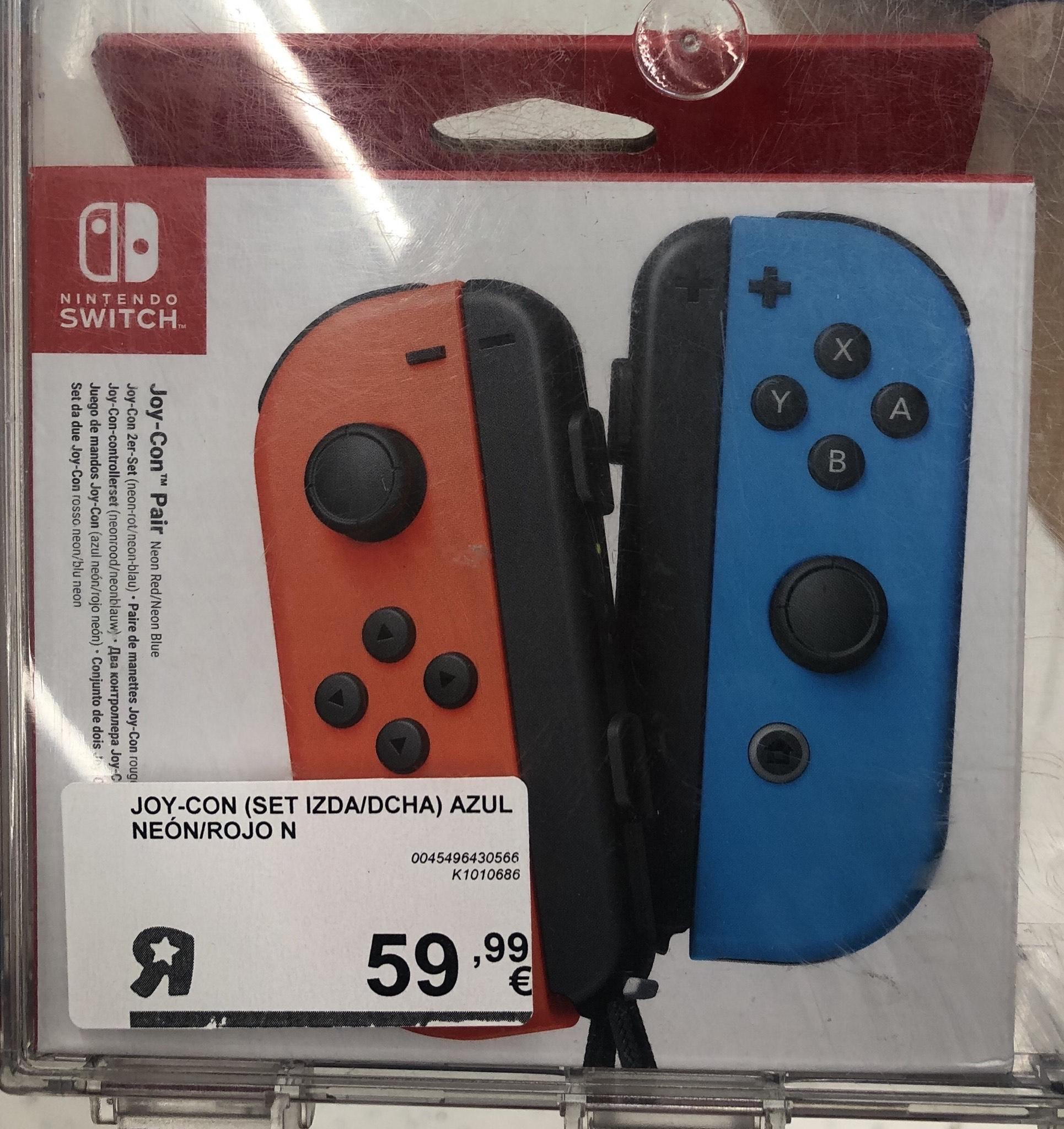 """Mandos Joycon Switch (Toys """"R"""" Us Vitoria)"""