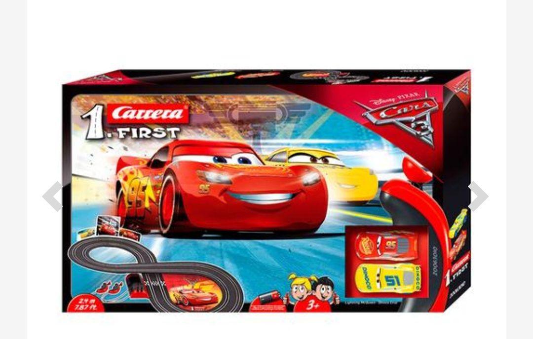 "Carrera First (""scalextric"") - Disney Pixar Cars 3 *Mínimo histórico*"